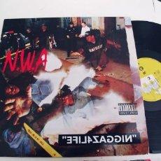 Discos de vinilo: N.W.A.-LP EFIL4ZAGGIN. Lote 255543770