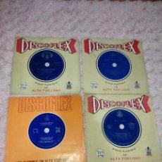 Discos de vinilo: LOTE DE 17 DISCOFLEX - DISCO FLEXIBLE (VARIOS ESTILOS). Lote 255555345