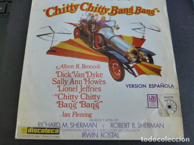 CHITTY CHITTY BANG BANG ( SHERMAN & SHERMAN ) - BANDA SONORA (Música - Discos - Singles Vinilo - Bandas Sonoras y Actores)