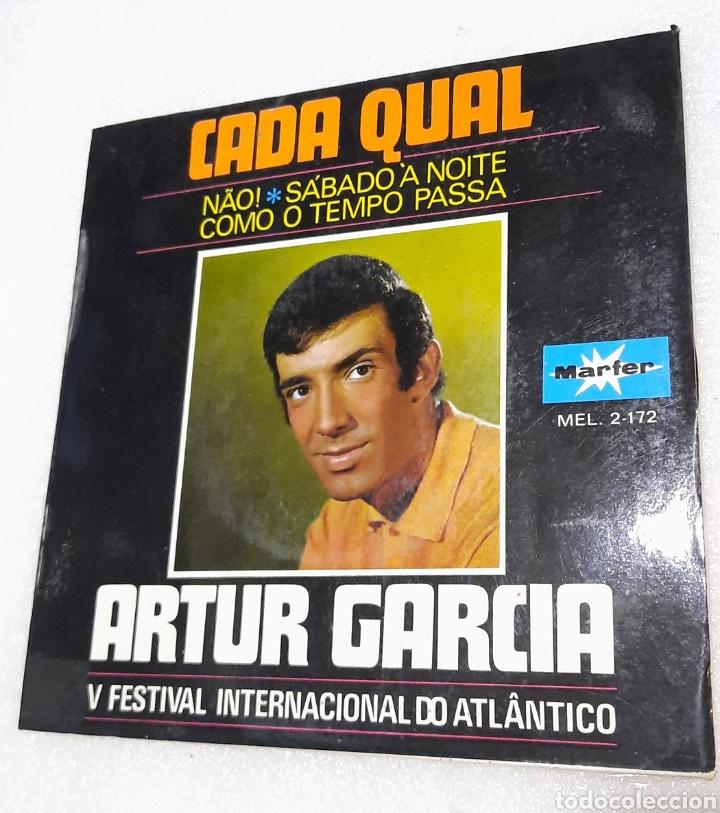 ARTUR GARCÍA - CADA QUAL + 3 (Música - Discos de Vinilo - EPs - Otros Festivales de la Canción)