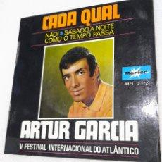 Discos de vinilo: ARTUR GARCÍA - CADA QUAL + 3. Lote 255555985