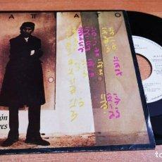Discos de vinilo: FRANCO BATTIATO LA ESTACION DE LOS AMORES CANTADO EN ESPAÑOL SINGLE VINILO PROMO 1985 ESPAÑA 2 TEMAS. Lote 255560755