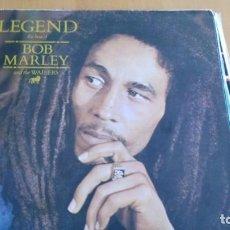 Discos de vinilo: BOB MARLEY & THE WAILERS LEGEND LP SPAIN GATEFOLD 1984. Lote 255588465