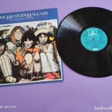 Discos de vinilo: LP. THE BEATLES BALLADS- 20 ORIGINAL TRACKS- SPAIN AÑO 1980. SELLO EMI 10C 064 007356. Lote 255594270