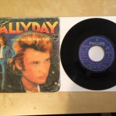"Discos de vinilo: JOHNNY HALLYDAY - STILL THE SAME (TE SIGO FIEL) - SINGLE RADIO 7"" - 1982 PHILLIPS. Lote 255595490"