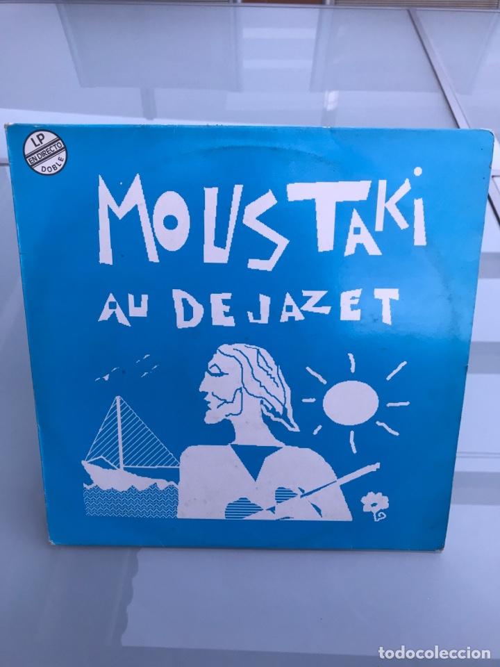 MOUSTAKI AU DE JAZET. DOBLE LP (Música - Discos - LP Vinilo - Canción Francesa e Italiana)