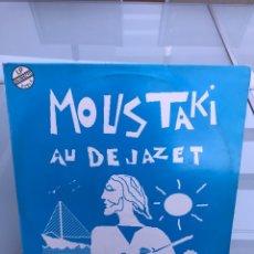 Discos de vinilo: MOUSTAKI AU DE JAZET. DOBLE LP. Lote 255596215