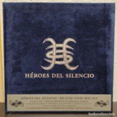 Discos de vinilo: HEROES DEL SILENCIO - DE LUXE VINYL BOX SET · 7LP · BOOK + POSTER. Lote 255612095