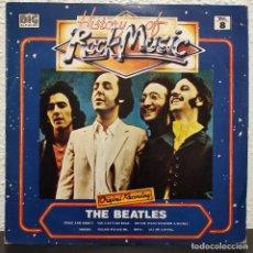 Discos de vinilo: THE BEATLES - HISTORY OF ROCK MUSIC VOL. 8 · LP · VINYL · SPAIN · 1982. Lote 255613840