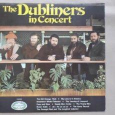 Discos de vinilo: THE DUBLINERS IN CONCERT - HALLMARK RECORDS - 1970 - VG/VG+. Lote 255617650