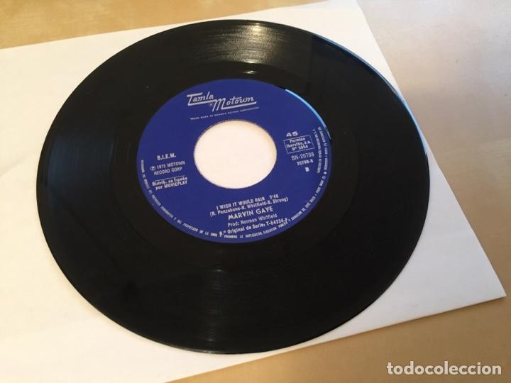"Discos de vinilo: Marvin Gaye - Let's Get It On - SINGLE RADIO 7"" - 1973 Tamla Motown SPAIN - Foto 4 - 255620475"