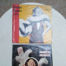 Discos de vinilo: LOTE DE 2 LP VINILO MARILYN MONROE. Lote 255636275