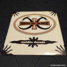 Discos de vinilo: HÉROES DEL SILENCIO - MALDITO DUENDE - EDICIÓN ORIGINAL DE 1990.. Lote 255636685
