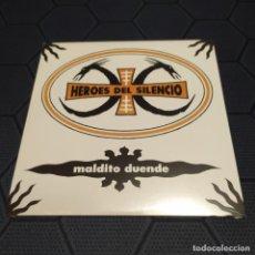 Discos de vinilo: HÉROES DEL SILENCIO - MALDITO DUENDE - EDICIÓN DE 2019 - PROMOCIONAL.. Lote 255637480