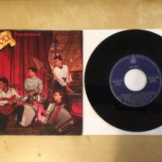 "Discos de vinil: OLE OLE - SUPERNATURAL / BUSCALA - GATEFOLD (PORTADA DOBLE) - SINGLE RADIO 7"" - 1988 HISPAVOX SPAIN. Lote 255639390"