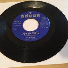 Discos de vinilo: THE BEATLES - LADY MADONNA (SOLO DISCO) - 1968 EMI ODEON SPAIN. Lote 255647845