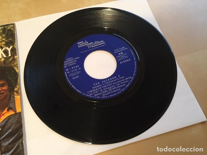 """Discos de vinilo: The Jackson 5 - Corner Of The Sky - PROMO SINGLE RADIO 7"""" - 1972 SPAIN - Foto 2 - 255648945"""