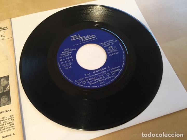 """Discos de vinilo: The Jackson 5 - Corner Of The Sky - PROMO SINGLE RADIO 7"""" - 1972 SPAIN - Foto 4 - 255648945"""