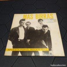 Discos de vinilo: MÁS BIRRAS - APUESTA POR EL ROCK'N ROLL - HÉROES DEL SILENCIO.. Lote 255650485