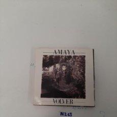 Discos de vinilo: AMAYA VOLVER. Lote 255661610
