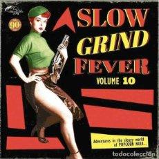 Discos de vinilo: VARIOS SLOW GRIND FEVER VOLUME 10 (LP) . RECOPILACIÓN VINILO SOUL R&B EXOTICA. Lote 255665400