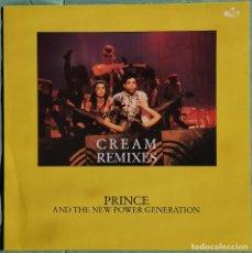 "Discos de vinilo: VINILO LP 12"" - PRINCE - CREAM REMIXES - MADE IN FRANCE - PASLEY PARK - 1991. Lote 255918655"
