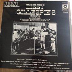 Discos de vinilo: DIZZY GILLESPIE'S ORCHESTRA - VOL. 1 (1947-1949) WHEN BE-BOP MET THE BIG BAND (RCA, FRANCE, 1973). Lote 255921030