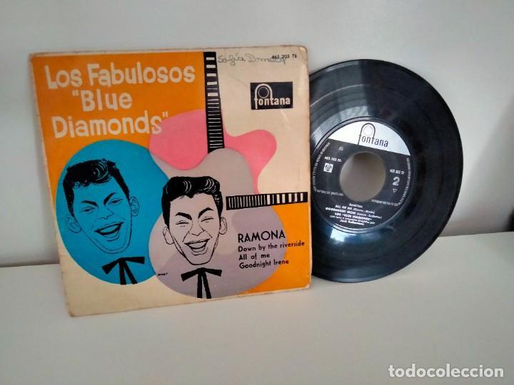 BLUE DIAMONDS RAMONA / DOWN BY THE RIVERSIDE / ALL OF ME / GOODNIGHT IRENE (Música - Discos - Singles Vinilo - Pop - Rock Internacional de los 50 y 60)
