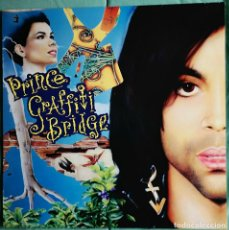 Discos de vinilo: VINILO LP DOBLE - PRINCE - GRAFFITI BRIDGE - MADE IN EUROPE - PAISLEY PARK - 1990. Lote 255922255