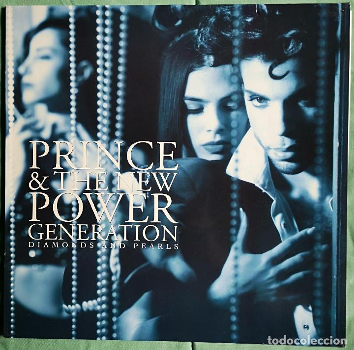 VINILO LP DOBLE - PRINCE - DIAMONDS AND PEARLS - MADE IN UK - PASLEY PARK - 1991 (Música - Discos - LP Vinilo - Pop - Rock Internacional de los 90 a la actualidad)