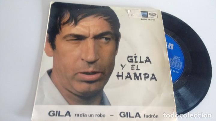 SINGLE (VINILO) DE GILA AÑOS 60 (Música - Discos - Singles Vinilo - Otros estilos)