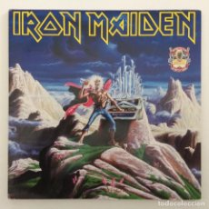 Discos de vinilo: IRON MAIDEN – RUNNING FREE · RUN TO THE HILLS 2 VINYLS 12'' LIMITED EDITION EUROPE,1990 EMI. Lote 255636385