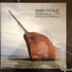 Discos de vinilo: LP DE QUIQUE GONZÁLEZ & LA ARISTOCRACIA DEL BARRIO.AVERÍA Y REDENCIÓN. Lote 255942545