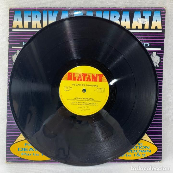 Discos de vinilo: MAXI SINGLE AFRIKA BAMBAATA - DEATH MIX THROWDOWN - UK - AÑO 1987 - Foto 3 - 255947810