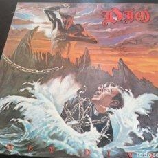 Discos de vinilo: DIO - HOLY DIVER LP ENCARTE. Lote 255951175