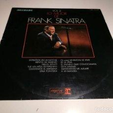 Disques de vinyle: DISCO VINILO LP LO MEJOR DE FRANK SINATRA. Lote 255951500