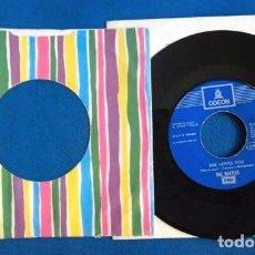 Discos de vinilo: BEATLES JUKEBOX MADE IN SPAIN ORIGINAL EPOCA RARO CMABIO REFERENCIA EXCELENTE ESTADO CONSERVACION. Lote 255952470