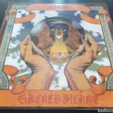 Discos de vinilo: DIO - SACRED HEART LP EDICIÓN ESPAÑOLA (ENCARTE). Lote 255952670