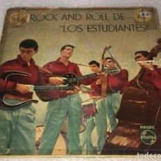 Discos de vinilo: EP EL ROCK AND ROLL DE LOS ESTUDIANTES - WOO HOO Y OTROS TEMAS - PHILIPS 428.230PE -PED MINIMO 7€. Lote 255953980
