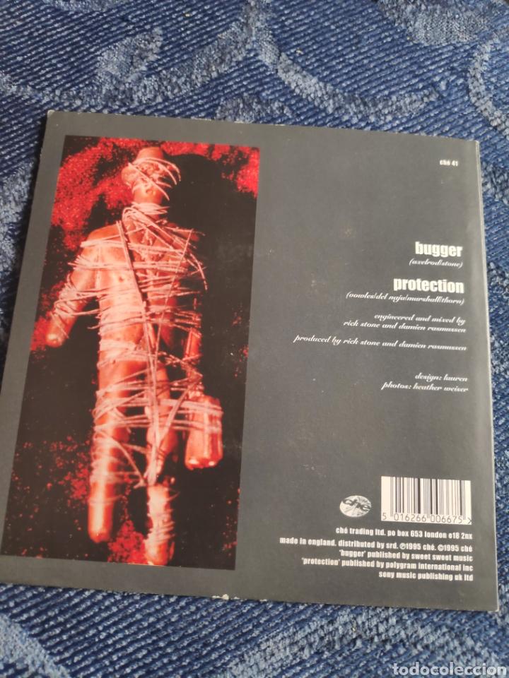 Discos de vinilo: Single vinilo indie color crema - Dart - Bugger - Foto 2 - 255956435