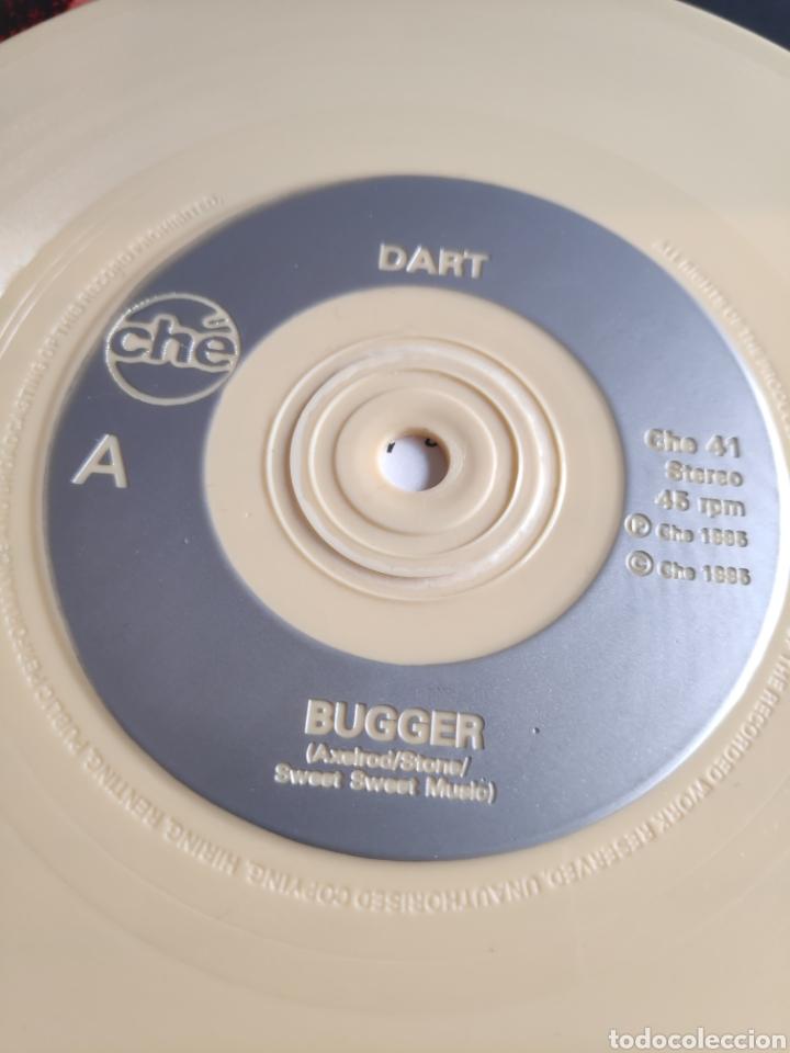 Discos de vinilo: Single vinilo indie color crema - Dart - Bugger - Foto 5 - 255956435
