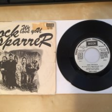 "Discos de vinilo: COCK SPARRER - WE LOVE YOU - PROMO SINGLE RADIO 7"" - DECCA SPAIN. Lote 255963485"