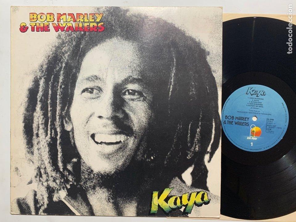 LP BOB MARLEY & THE WAILERS – KAYA EDICION ESPAÑOLA DE 1983 (Música - Discos - LP Vinilo - Reggae - Ska)