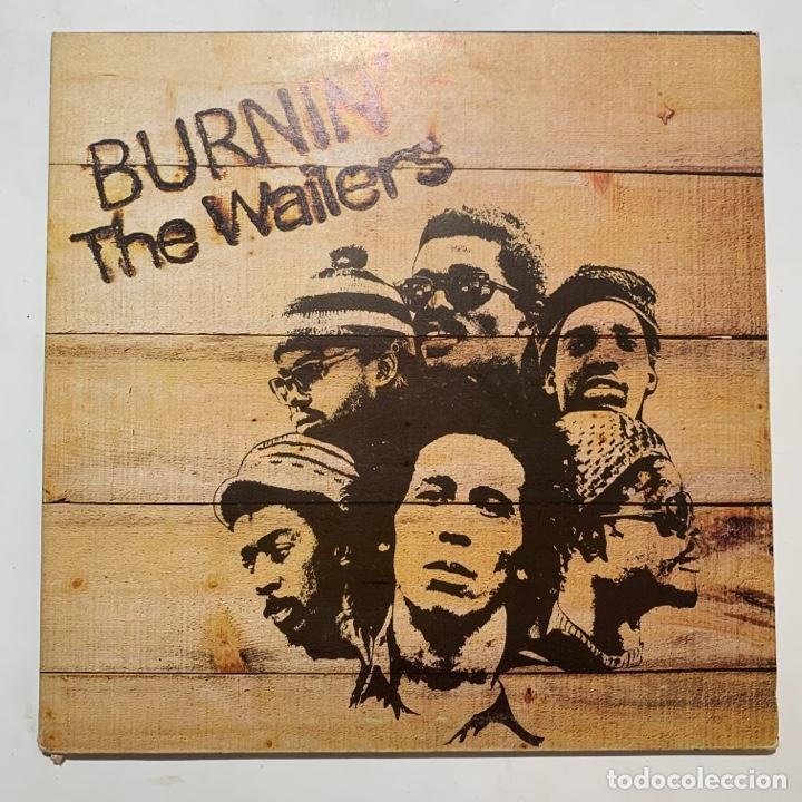 LP GATEFOLD THE WAILERS BURNIN' EDICION ESPAÑOLA DE 1981 (Música - Discos - LP Vinilo - Reggae - Ska)