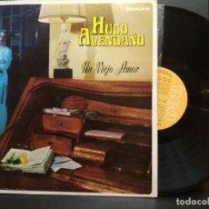 Discos de vinilo: HUGO AVENDAÑO UN VIEJO AMOR RCA MEXICANO LP 1956 PEPETO. Lote 255967470
