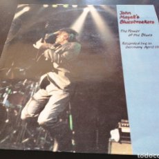 Discos de vinilo: JOHN MAYALL - JOHN MAYALL'S BLUESBREAKERS - THE POWER OF THE BLUES - LIVE GERMANY 1987 LP. Lote 255970285