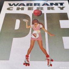 Discos de vinilo: WARRANT - CHERRY PIE LP. Lote 255970975