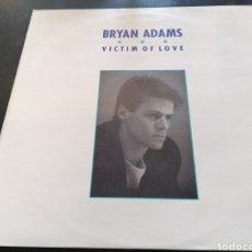 Discos de vinilo: BRYAN ADAMS - VICTIM OF LOVE MAXI. Lote 255973530