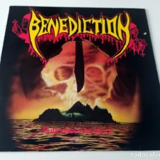 Discos de vinilo: LP BENEDICTION - SUBCONCIOUS TERROR TEST PRESSING. Lote 68871829