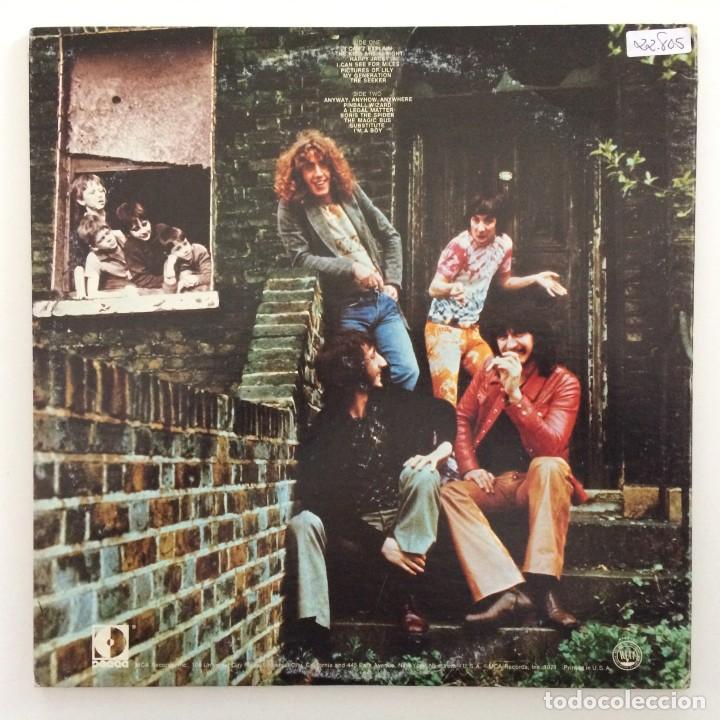 Discos de vinilo: The Who – Meaty Beaty Big And Bouncy USA,1971 Decca - Foto 2 - 9279771